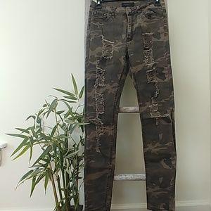 Camo Jeans size 3